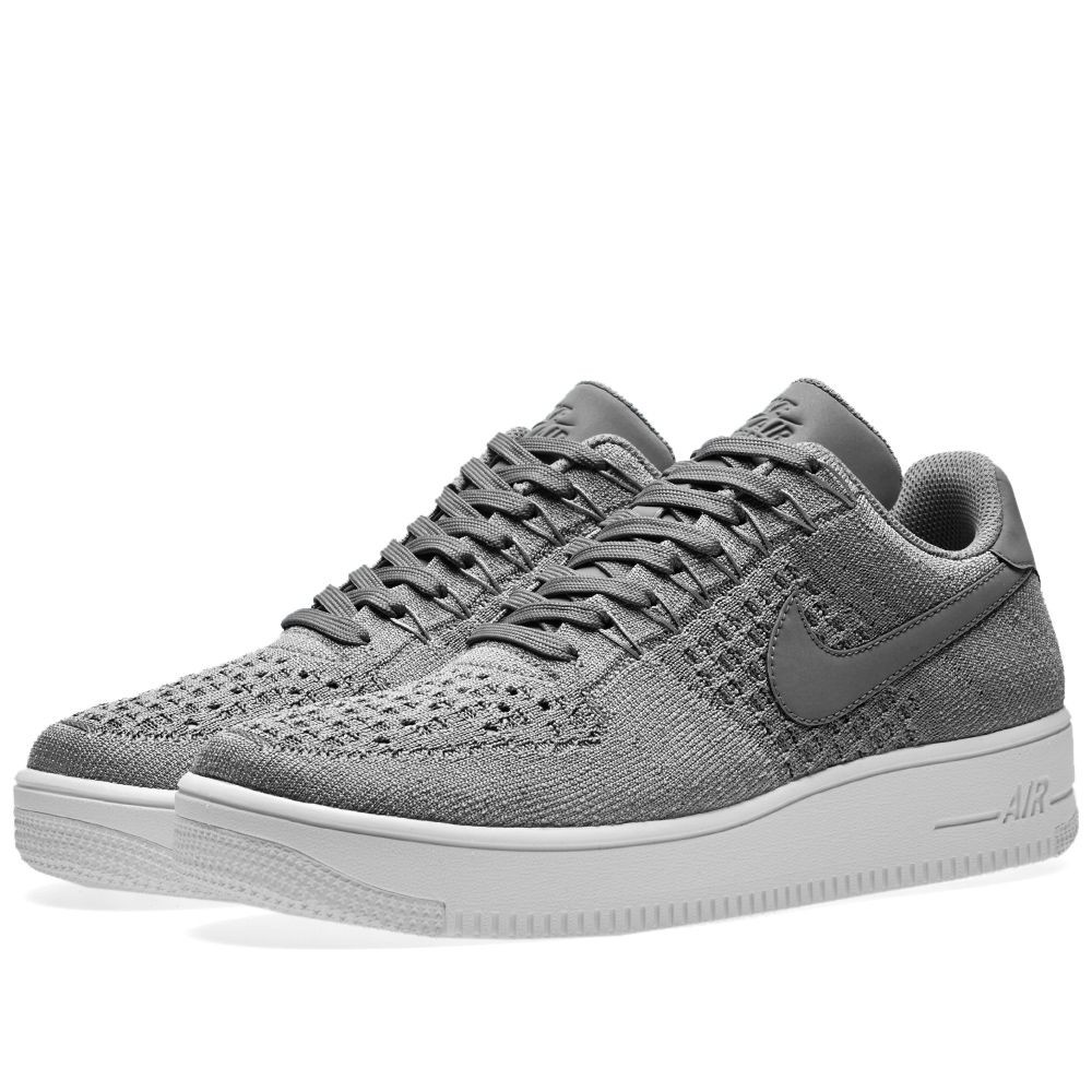 Nike Air Force 1 Ultra Flyknit Low Grau 817419-007