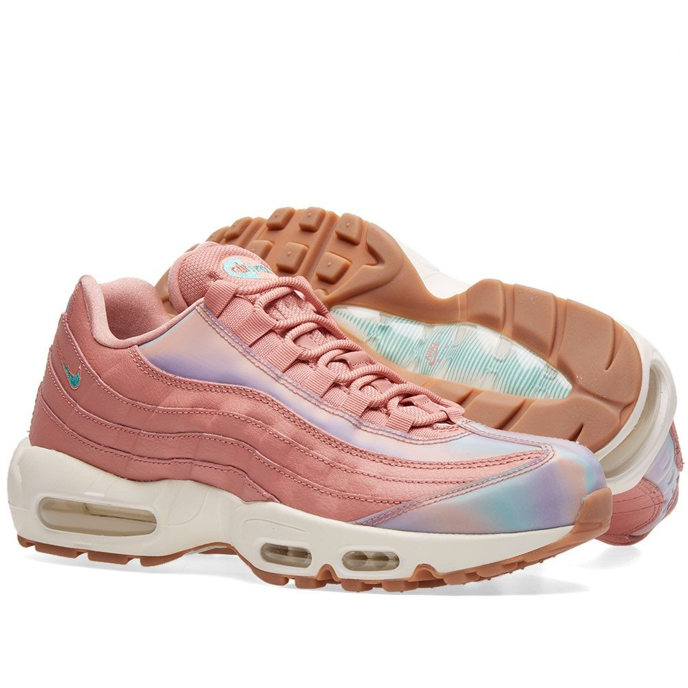 Damen nike air max plus rot stardust