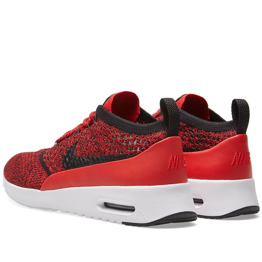 nike damen air max thea ultra flyknit ultra rot schwarz. Black Bedroom Furniture Sets. Home Design Ideas