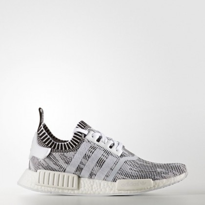 to buy coupon code various styles Adidas Herren NMD R1 Primeknit Glitch Camo Grau | BY1911