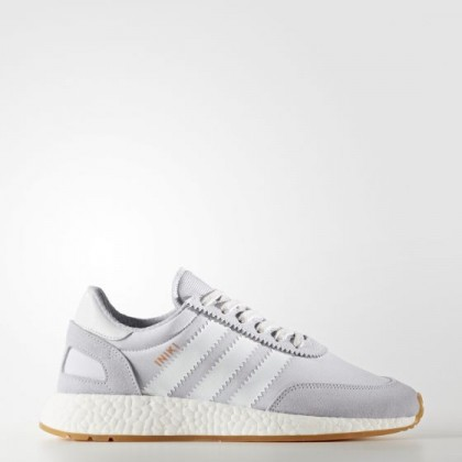 large discount release info on los angeles Adidas Herren Originals Iniki Runner Schuhe Weiß/ Pear Grau BY9093