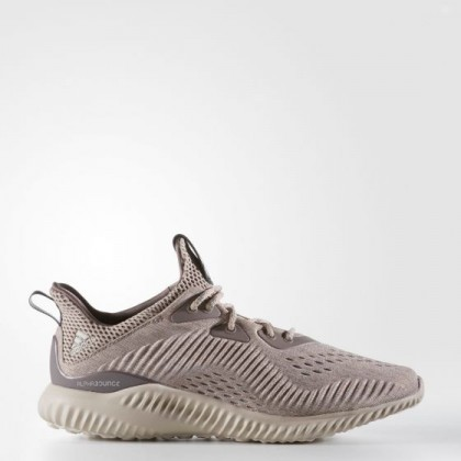 Adidas Damen Running Alphabounce Engineered Mesh Braun BW0325