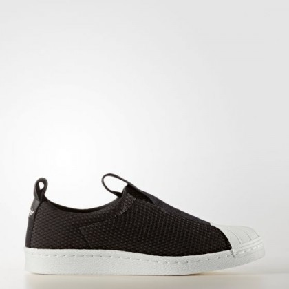 Adidas Damen Originals Superstar Slip-on Schuhe Schwarz BY9137