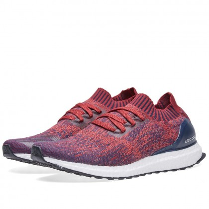 Adidas Originals Ultra Boost Uncaged Rot/Burgundy/Collegiate Marine BA9617