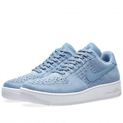 Nike Air Force 1 Ultra Flyknit Low Blau 817419-402
