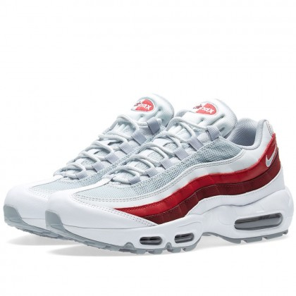 Nike Air Max 95 Weiß Team Rot 749766-103