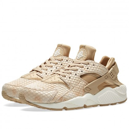 Nike Damen Air Huarache Run Premium Linen 683818-201
