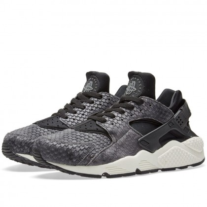 Nike Damen Air Huarache Run Premium Schwarz 683818-013