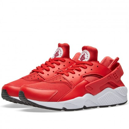 "Nike Air Huarache Herren LaufSchuhe ""University Red"" 318429-604"