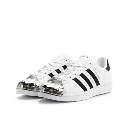 Adidas Damen Superstar 80s Metal Toe Weiß BB5114
