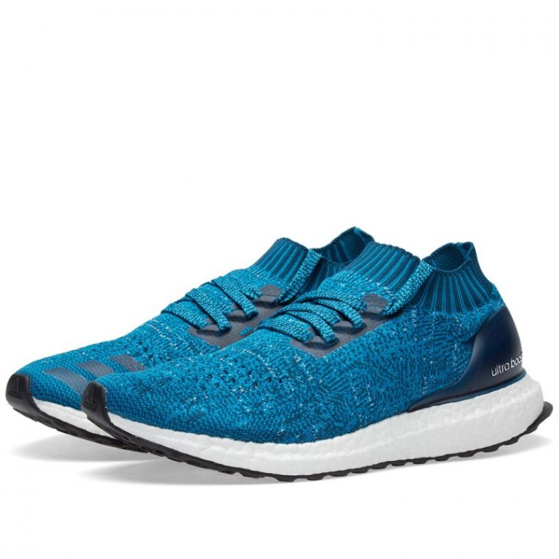 Adidas Herren Ultra Boost Uncaged Blau Weiß | BY2555