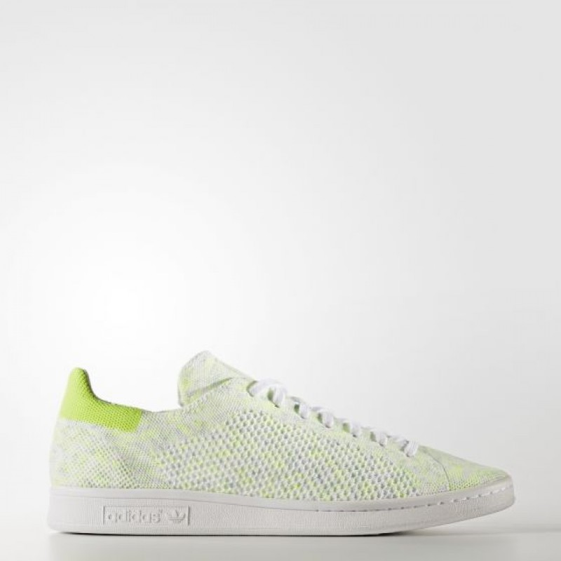 Adidas Herren Originals Stan Smith Primeknit Running Weiß/ Electricity BA7439