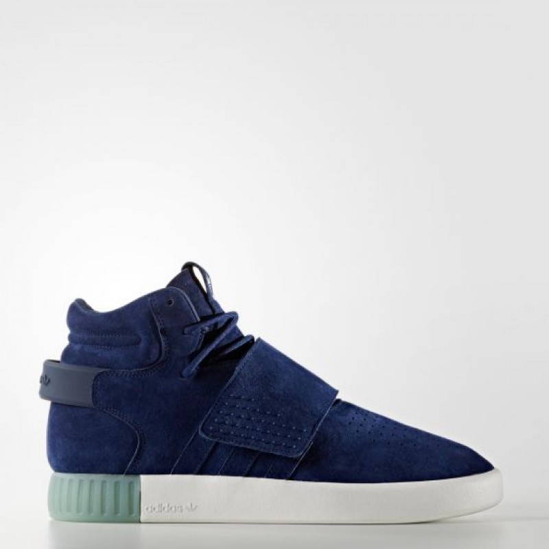 Adidas Herren Originals Tubular Invader Strap Blau/ Clear Aqua BB5041
