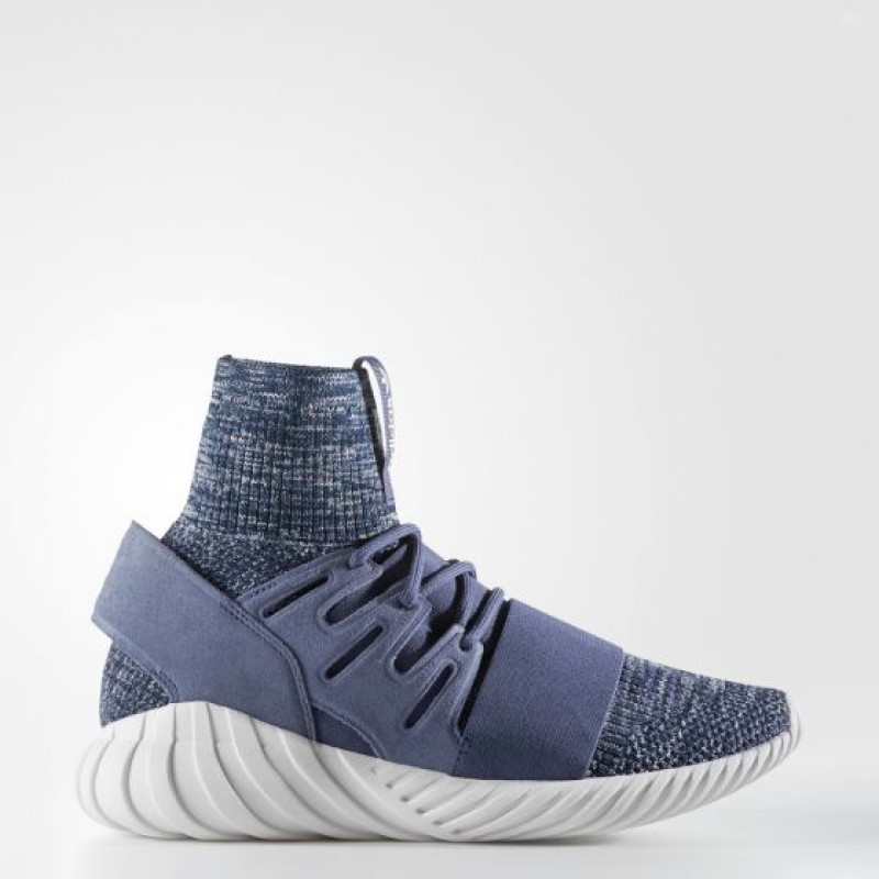 Adidas Herren Originals Tubular Doom Primeknit Gid Cool Super lila/ Collegiate Navy