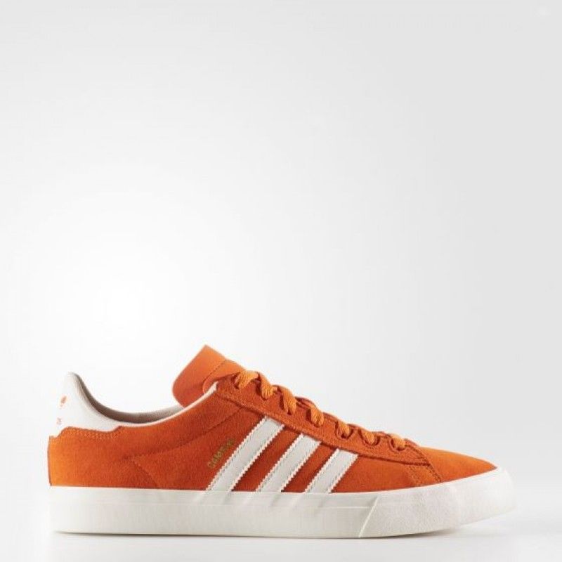 Adidas Herren Originals Campus Vulc Adv 2.0 Schuhe Tactile Orange BB8524