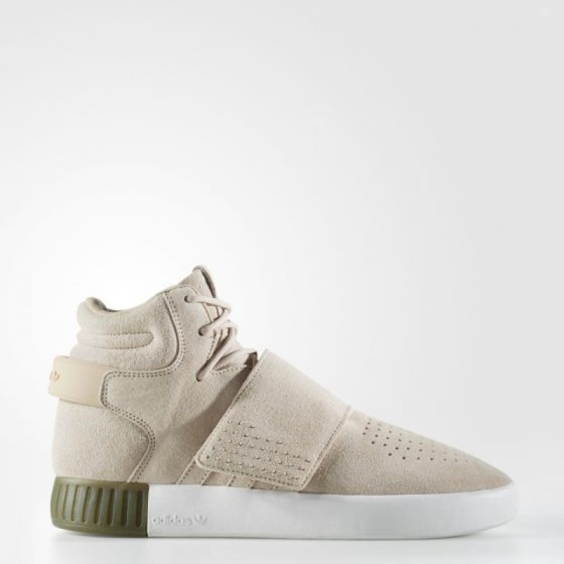 Adidas Damen Originals Tubular Invader Strap Clay Braun B39366