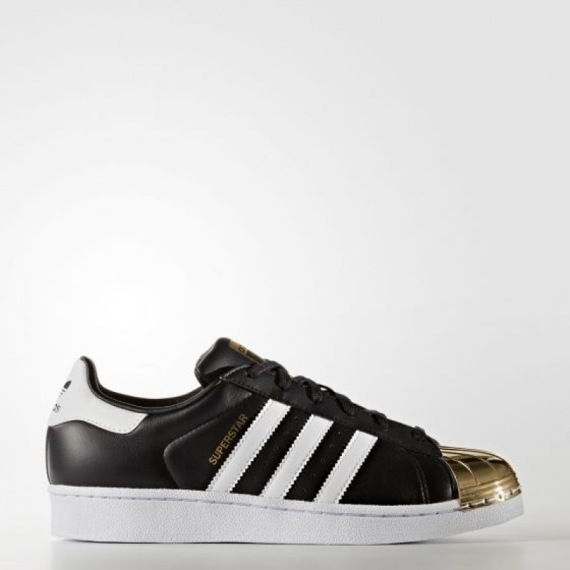 Adidas Damen Originals Superstar 80s Schwarz/ Gold Metallic BB5115