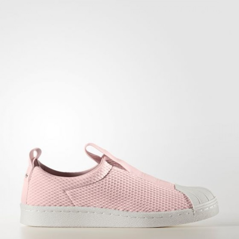 Adidas Damen Originals Superstar Slip-on Schuhe Rosa BY9138
