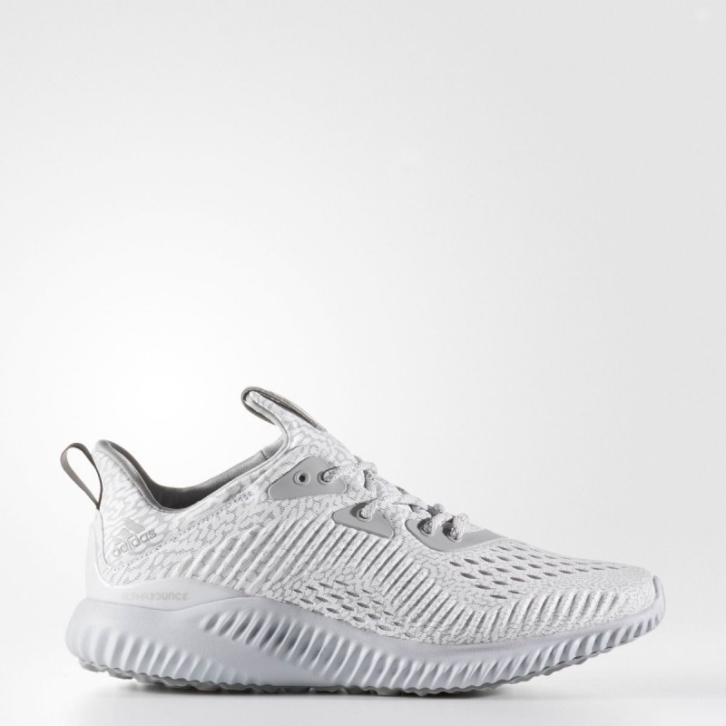 Adidas Alphabounce Ams Men S Running Shoes White Grey