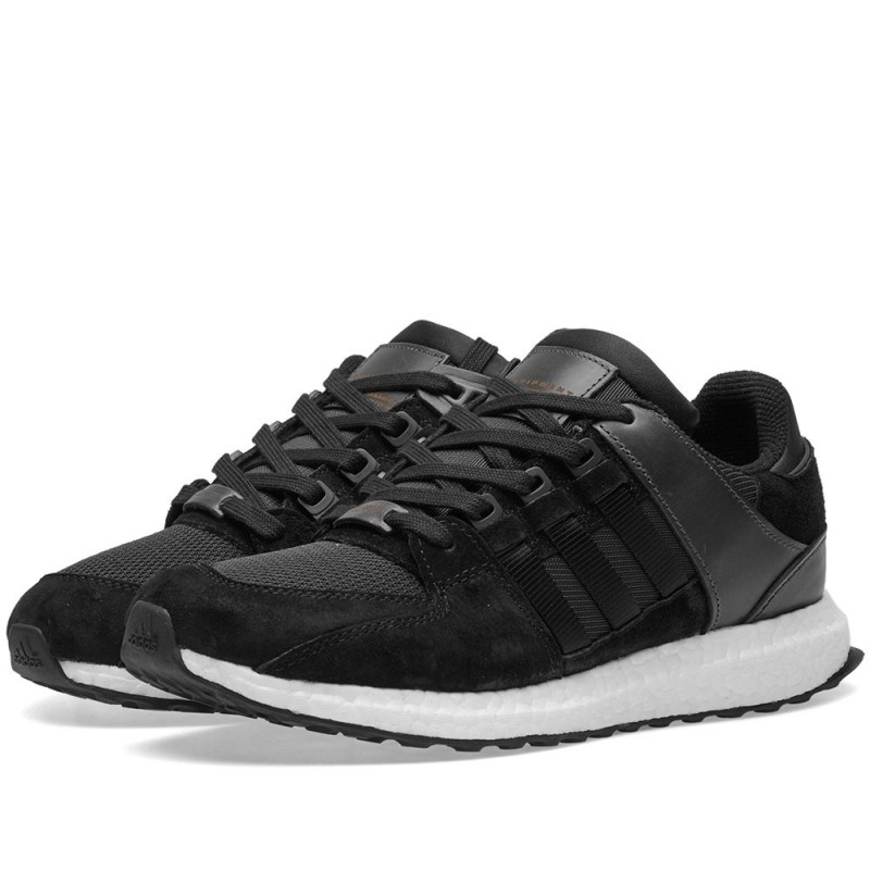 Adidas Originals EQT Support Ultra Boost Herren Schuhe Schwarz BA7475