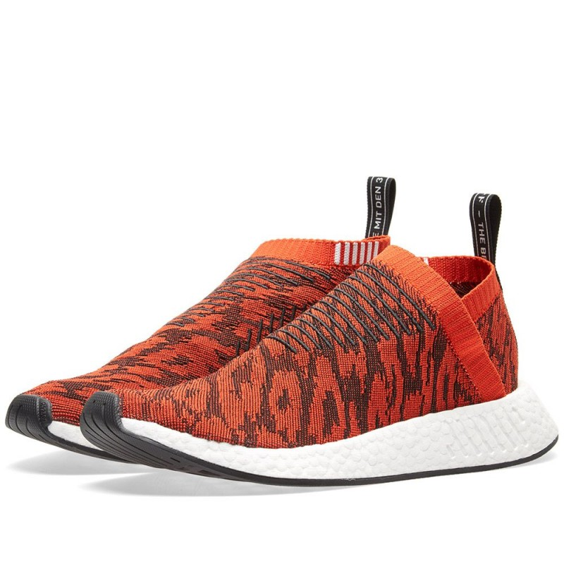 Adidas NMD CS2 Primeknit Rot Glitch BY9406