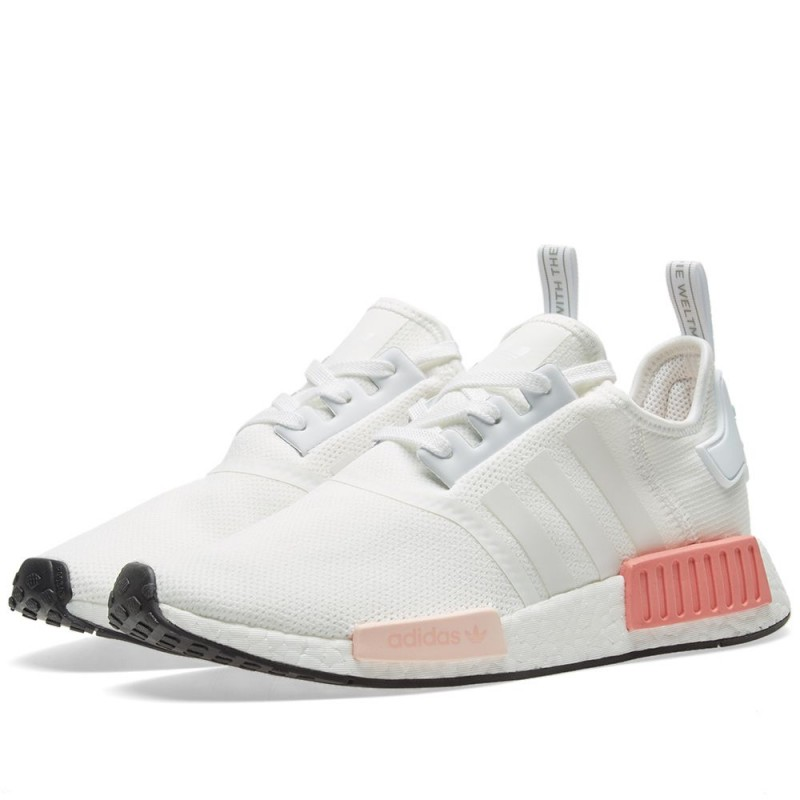 Adidas NMD R1 Runner Boost Weiß Rosa Damen BY9952