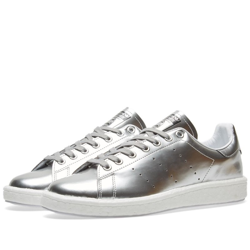 Adidas Damen Stan Smith Boost Silber BB0108