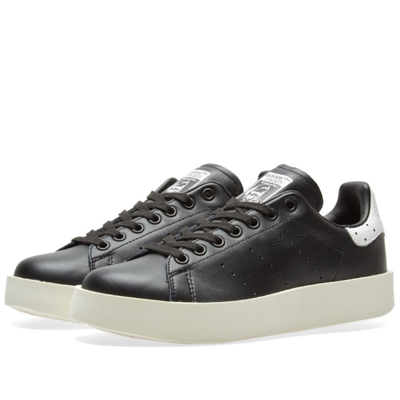 Adidas Damen Stan Smith Bold Schwarz BA7772