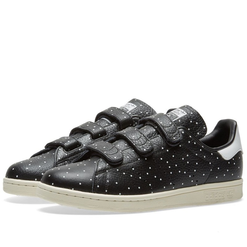 Adidas Originals Stan Smith Cf Damen Dots (Schwarz/Weiß) BB5146