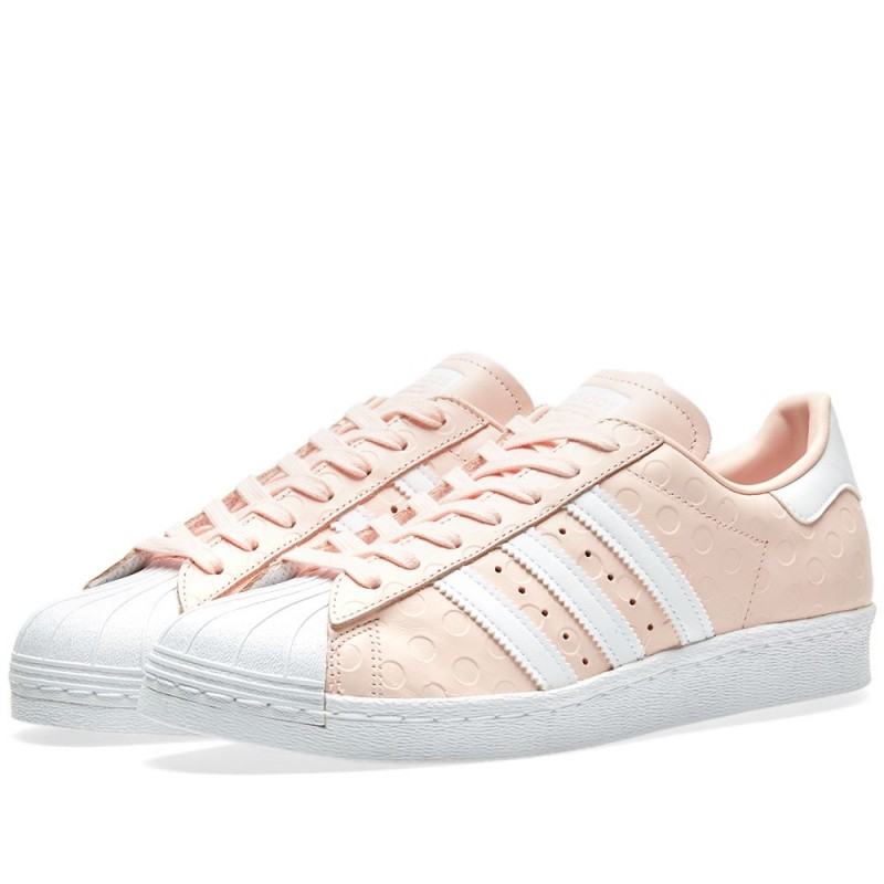 Adidas Damen Originals Superstar 80s Rosa By9073