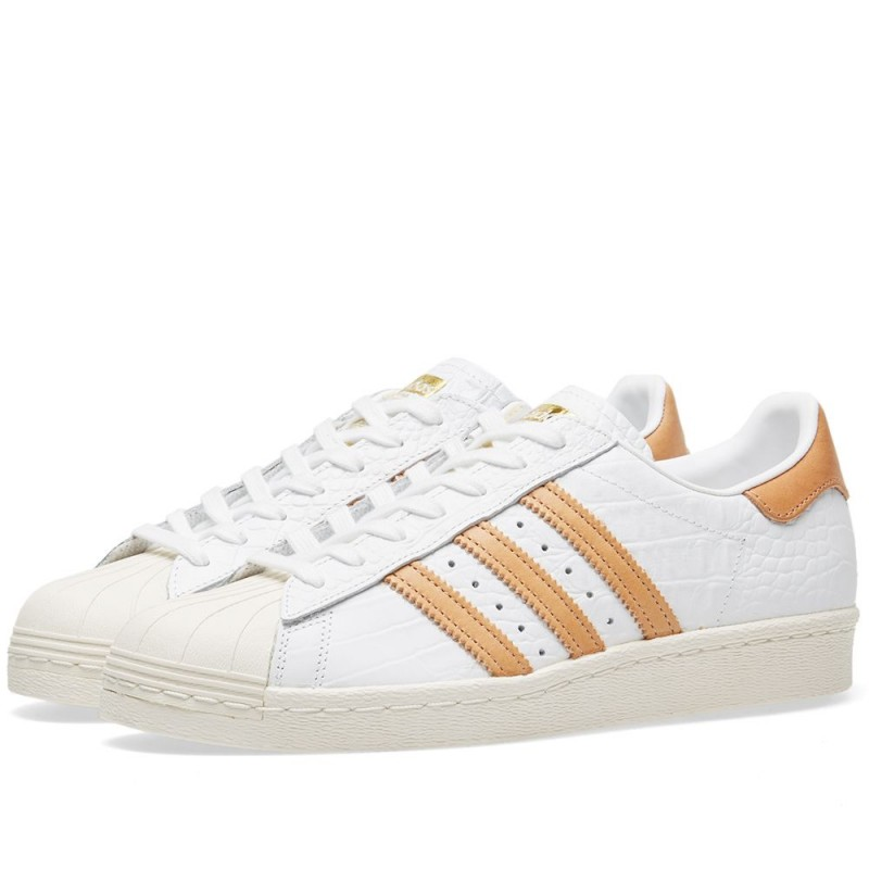 Adidas Originals Superstar 80s Weiß BB2229