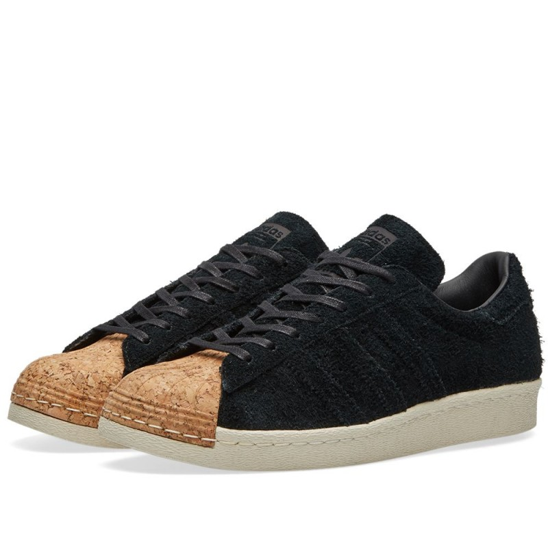 Adidas Originals Superstar 80s Cork Damen Schwarz/Schwarz/Weiß BY2963