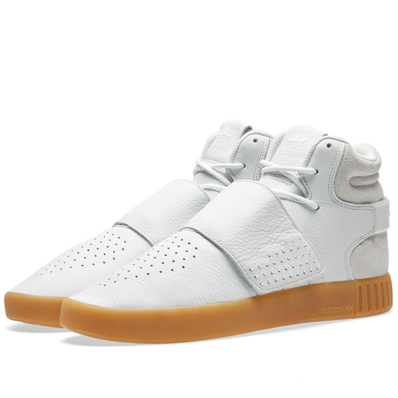 Adidas Originals Tubular Invader Strap Weiß BY3629