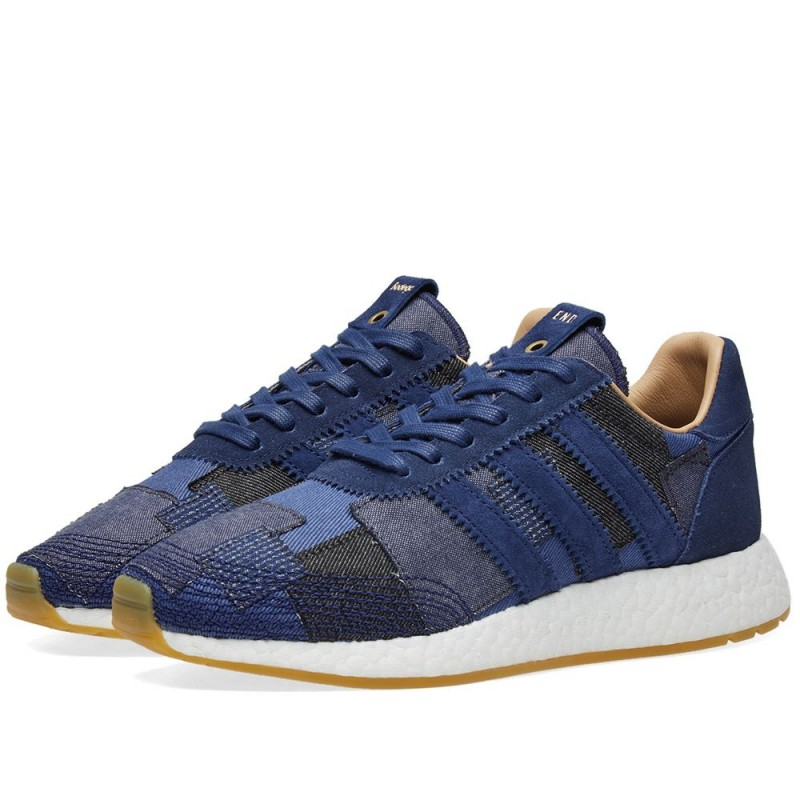 End x Bodega adidas Iniki Runner Boro Denim Pack BY2104