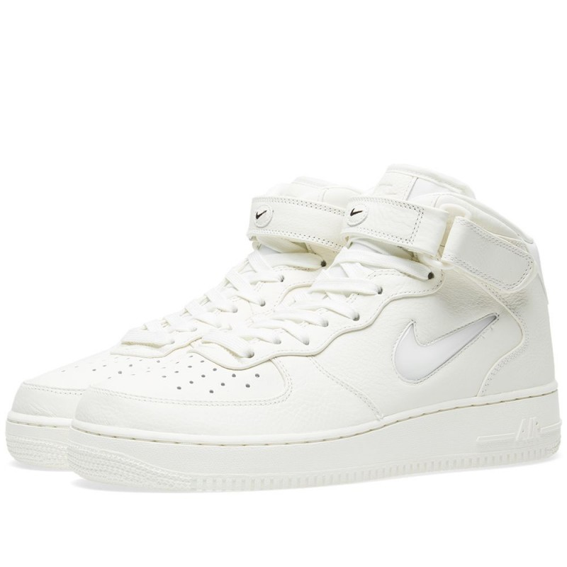 "Nike Air Force 1 Premium Retro Mid ""Jewel"" Weiß 941913-100"