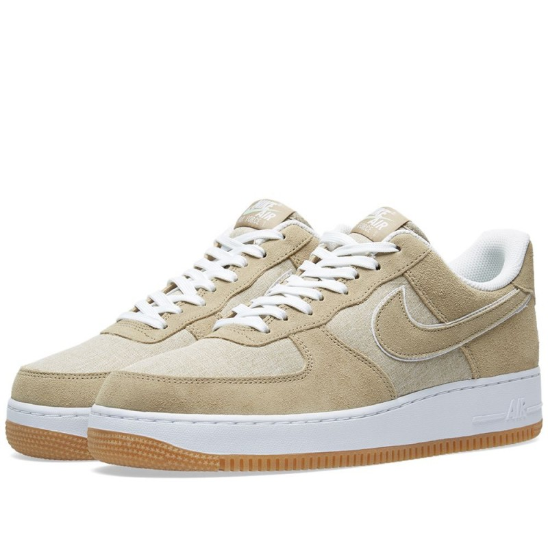 Nike Herren Air Force 1 Schuhe Braun 315122-214