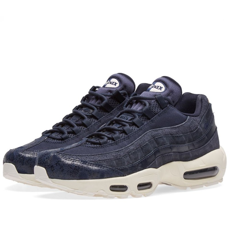 Nike Air Max 95 Premium in blau 807443 401 | everysize