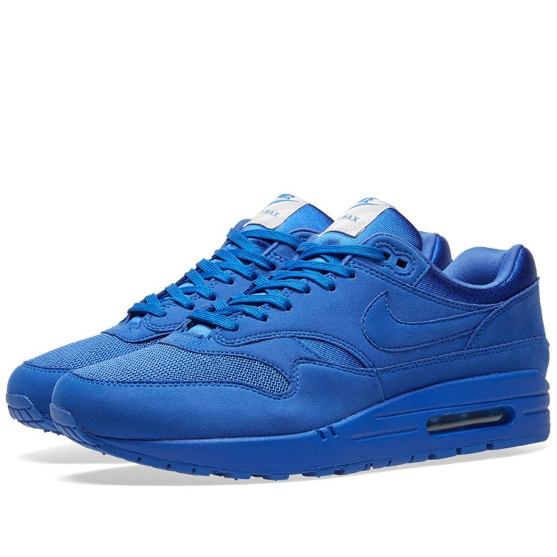 "Nike Air Max 1 Premium ""Game Royal"" 875844-400"
