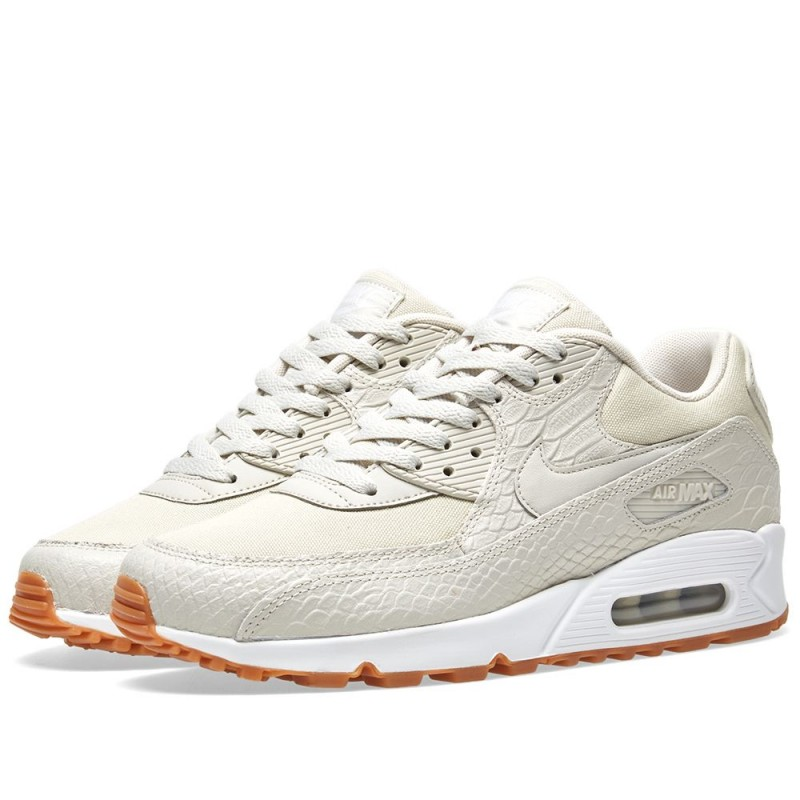 Nike Damen Air Max 90 Premium licht Bone 896497-001