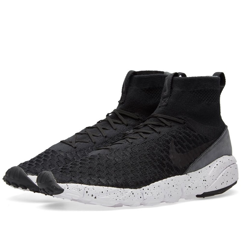 Nike Air Footscape Magista Flyknit Schwarz 816560-003