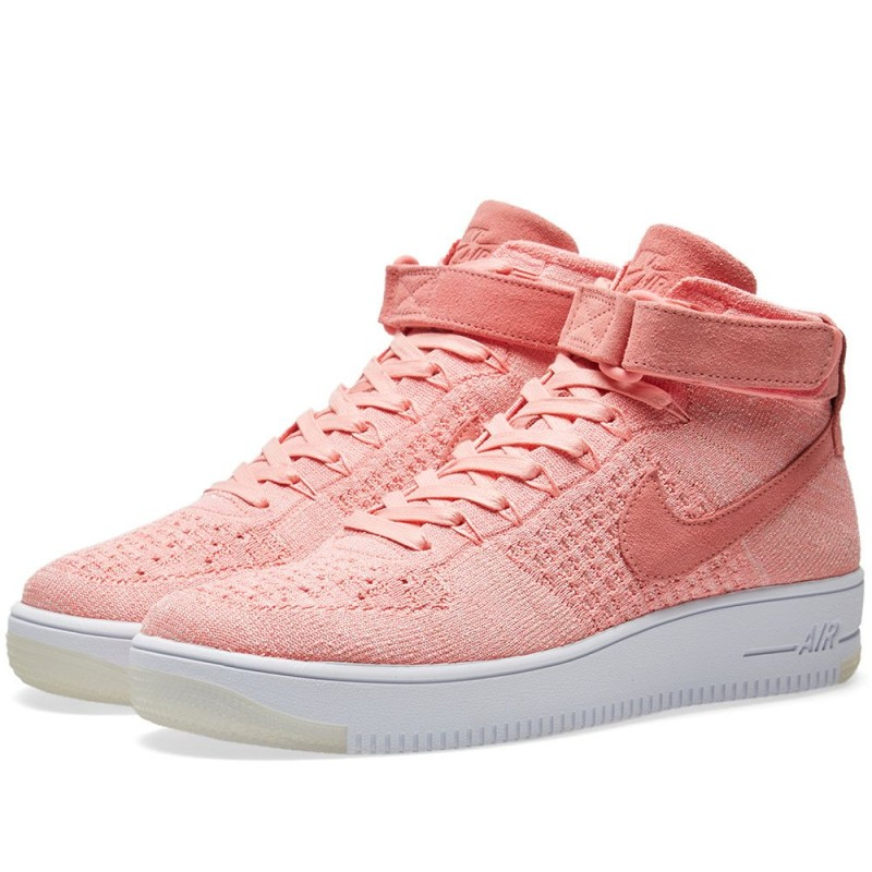 "Nike Damen Air Force 1 Flyknit ""Bright Melon"" 818018-802"