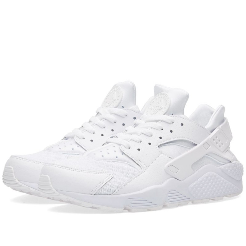 "Nike Air Huarache ""Triple White"" Weiß/Weiß 318429-111"