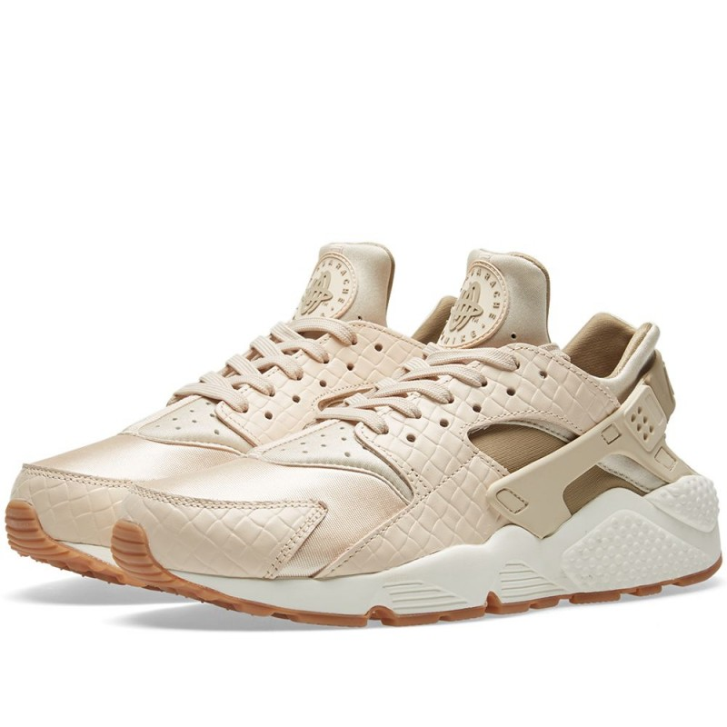 "Nike Damen Air Huarache Run Premium ""Oatmeal Khaki"" 683818-102"
