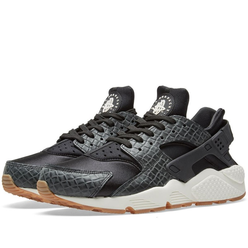Nike Damen Air Huarache Run Premium Schwarz 683818-011