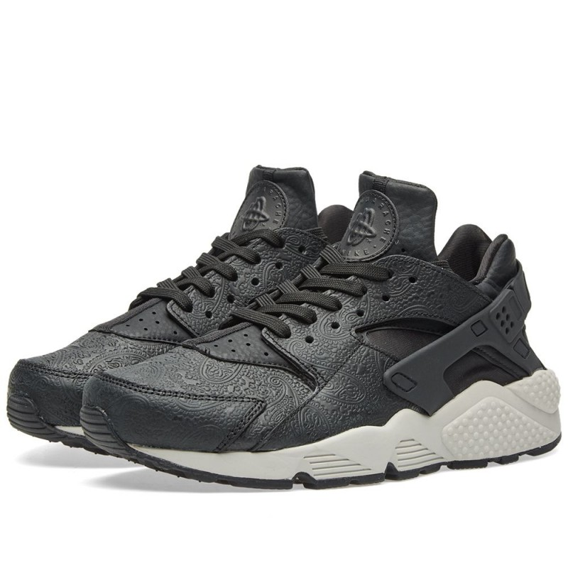 Nike Damen Air Huarache Run Premium Schwarz 683818-010