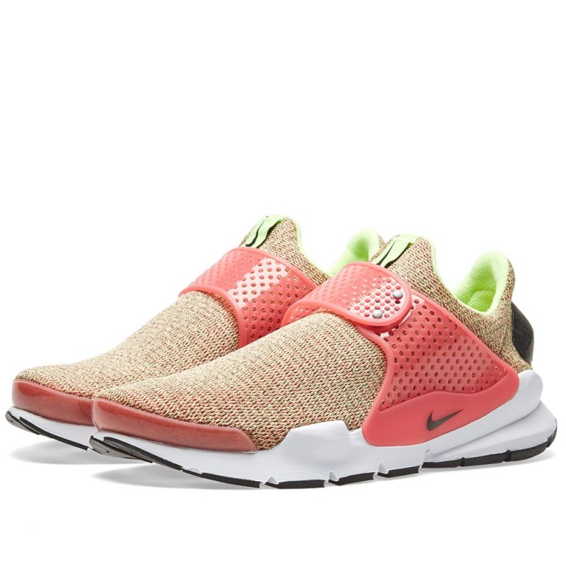 Nike Damen Sock Dart SE Ghost Rosa/Hot Punch/Weiß/Schwarz 862412-301