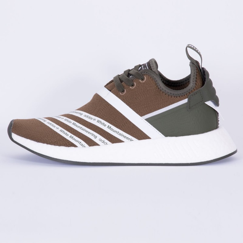 Adidas X White Mountaineering NMD R2 PK Olive CG3649