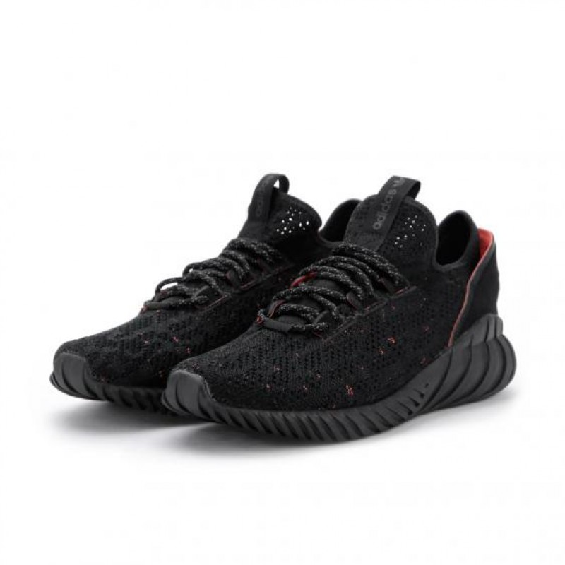 adidas Tubular Doom Sock Schwarz Grau BY3559