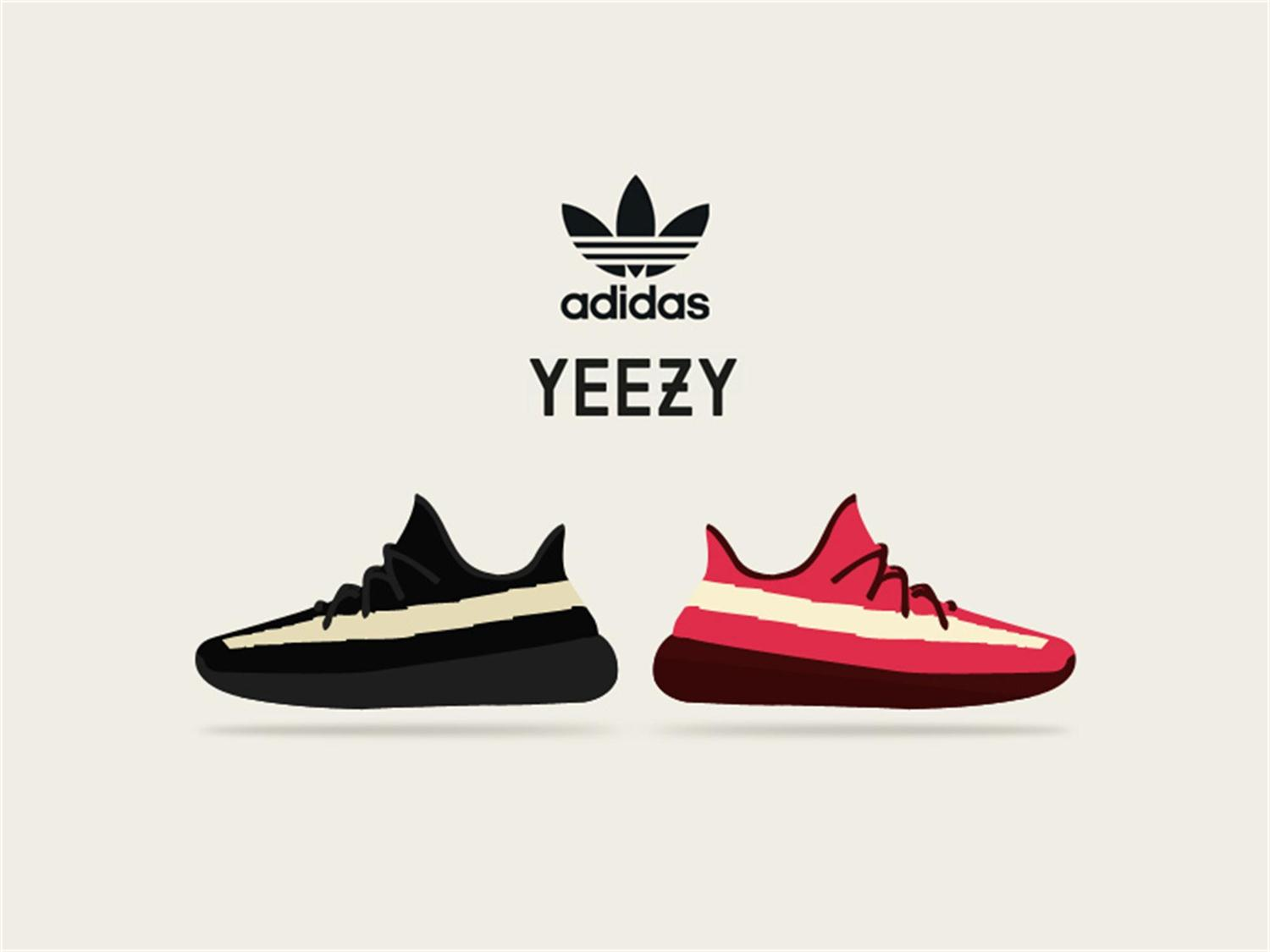 adidas yeezy vector free psd t3