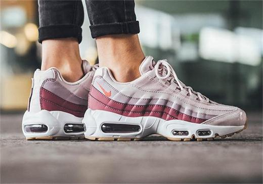 nike air max 95 barely rose hot punch 307960 603